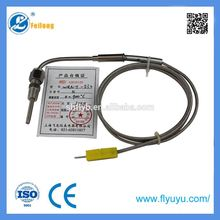 EGT type gas oven thermocouple for gas grill with plug