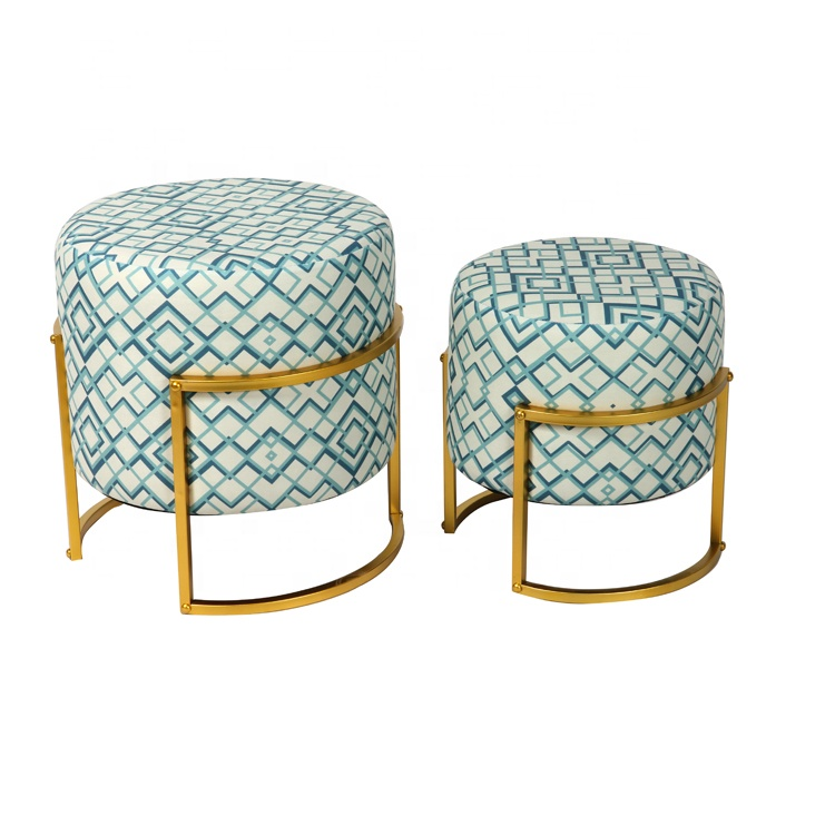 Excellent Bailey Velvet Footstool Ottoman Round Stool With Metal Base Buy Footstool Ottoman Round Ottoman Stool Product On Alibaba Com Caraccident5 Cool Chair Designs And Ideas Caraccident5Info