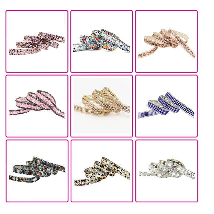 Fashion high quality rhinestone trimming crystal rhinestone mesh hot fix rhinestone mesh