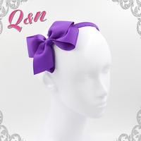 wholesale diamond cheerleading ribbon bow hair