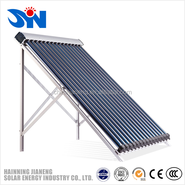 20 heat pipes solar super evacuated tube solar collector