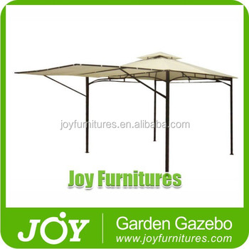 Portable White Deluxe Gazebo