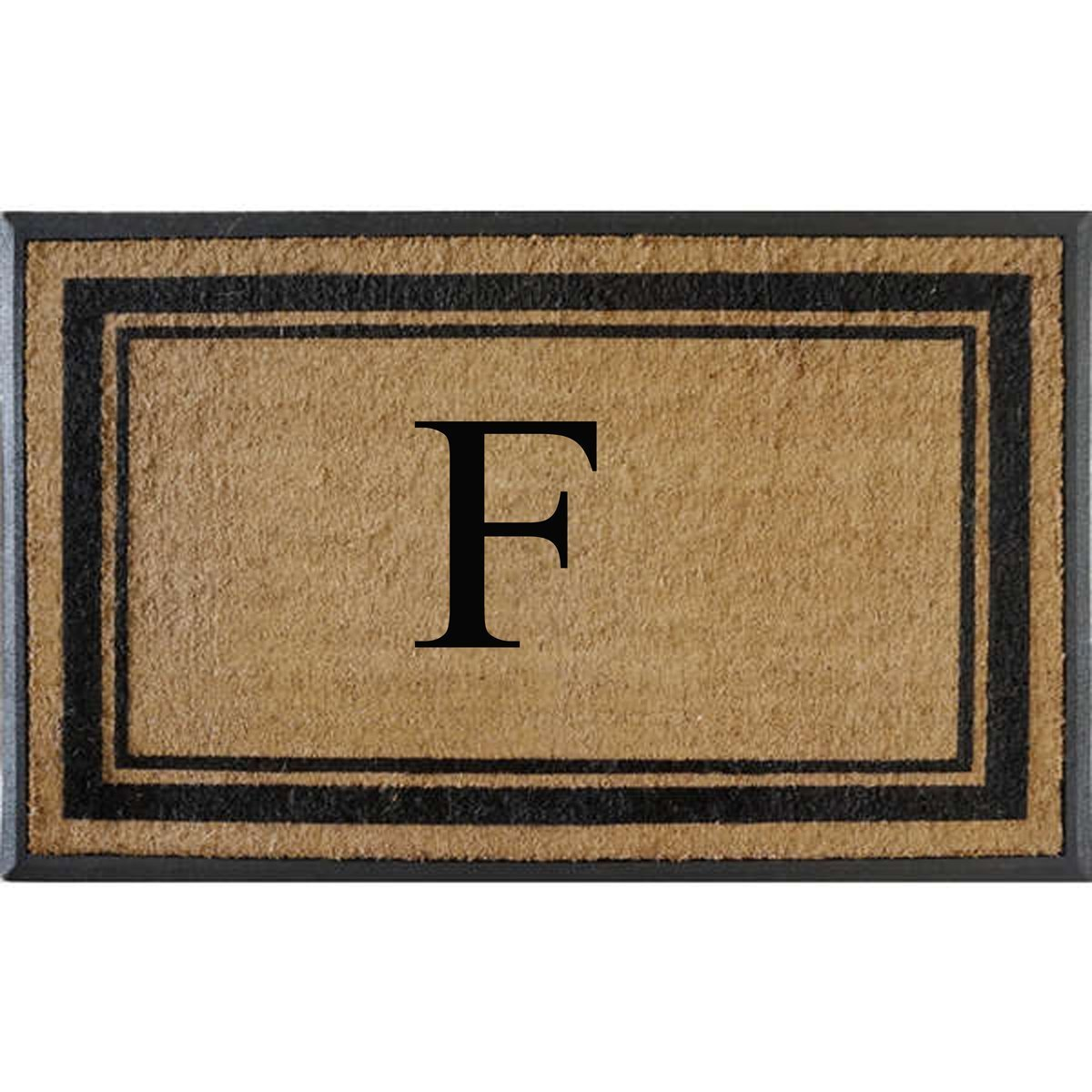 products richmond bleached doormat treated non anti doors double door entry monogrammed shred slip mat