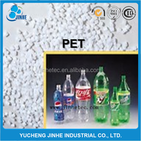 Hot washed 100% clear PET bottle scrap / PET flakes / recycled PET Resin Factory