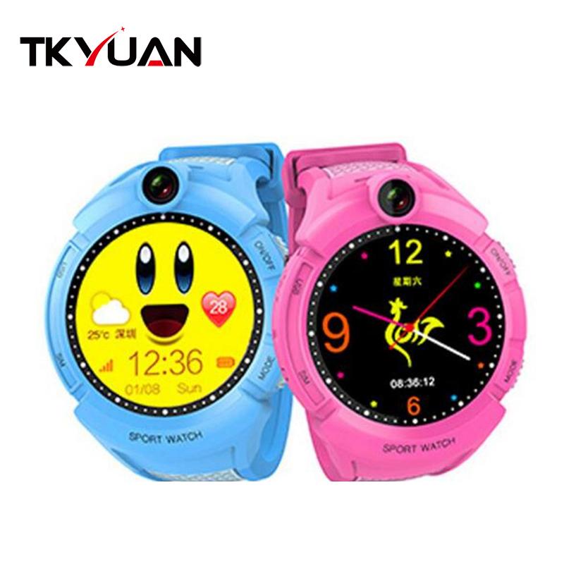 G610 Kids Waist GPS Tracking SIM Card Smart Watch with SOS LBS Mini Children Security Bracelet watch фото