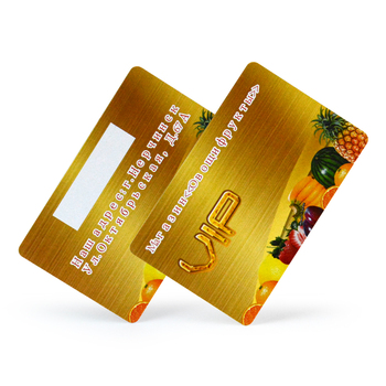Customized plastic cards both sides CMYK full color printing membership vip card maker