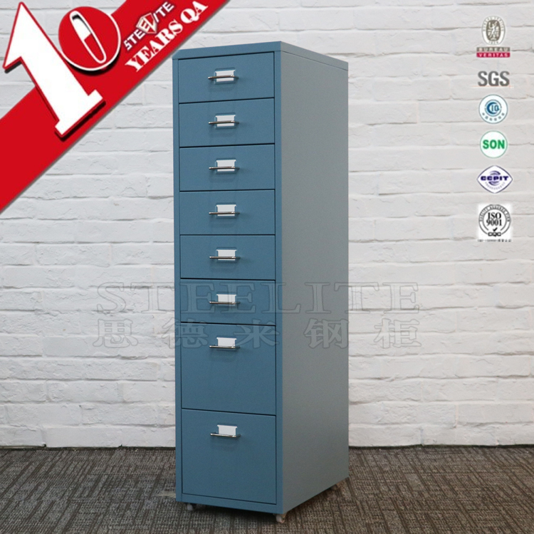 Cheap Metal kids 8 drawer storage cabinet in children furniture sets wholesale