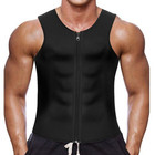 6300 Wholesale neoprene vest man fat burner sweat corset sports vest body shaper men slim vest