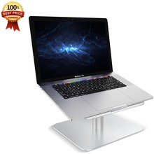 Laptop Notebook Stand [360-Rotating] Desktop Houder voor Apple MacBook, Air, Pro, Dell XPS, HP, Samsung, Lenovo en Meer