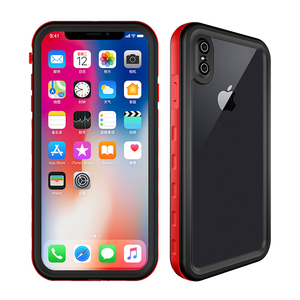 Top quality hot selling waterproof case for iPhone XS Max clear back sealed case for iPhone XR 2018