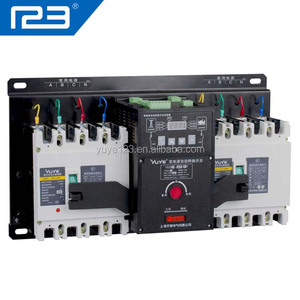 4 Pole Electrical Switch with MCCB and Intelligent Controller
