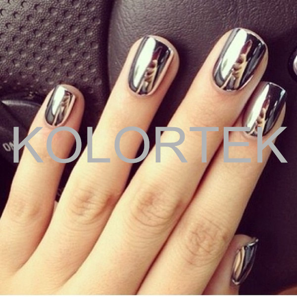 Nail Aluminum Powders Kolortek Chrome Pigment Powder - Buy Nail ...