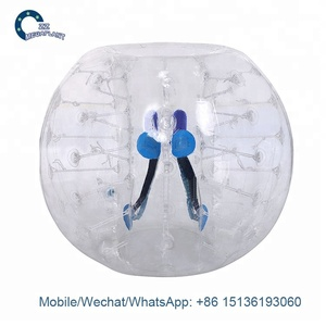 Best Quality TPU 1.2M Kid Inflatable Body Bumper Bubble Ball for kids price