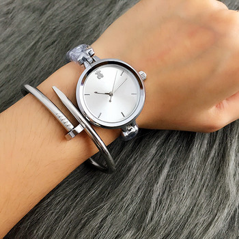 Minimalist Watch women small size stainless steel band lovely bear Dial Bracelet wristwatches Richports