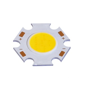 DC12V 3W 5W 7W 9W chip on board amber / warm white cob led chip