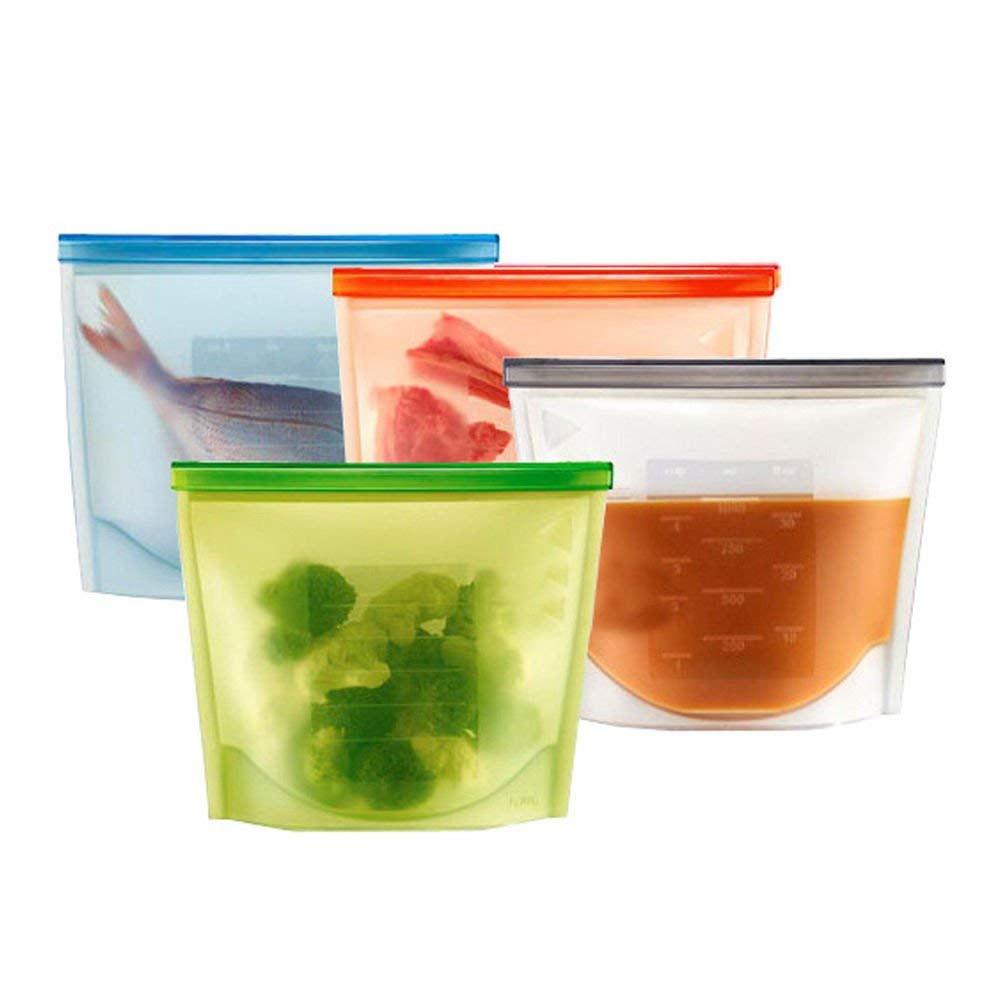 hot sales amazon wholesales factory customized silicone food storage bag