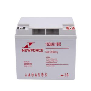 Long lifespan deep cycle battery 12v 38ah 20hr energy batteries for toys
