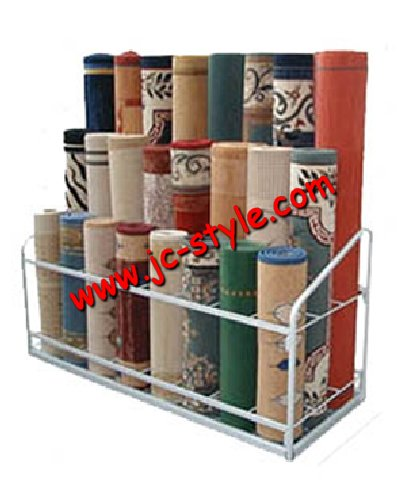 Retail Rolling Carpet Rug Display Stand Yoga Mats Rack For S Promotion