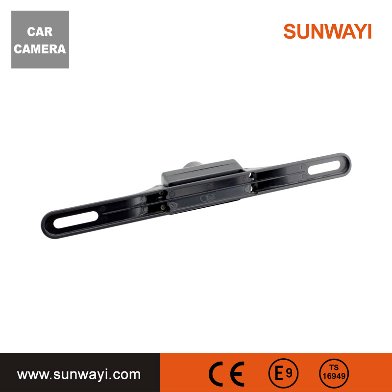 Auto Car Rear View Reverse Backup Camera 120 Degrees Wide Angle Anti-fog Free Opening License Plate Frame Parking Camera