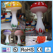 Red Yellow Pink Purple Multidute Colors Giant Inflatable Mushroom