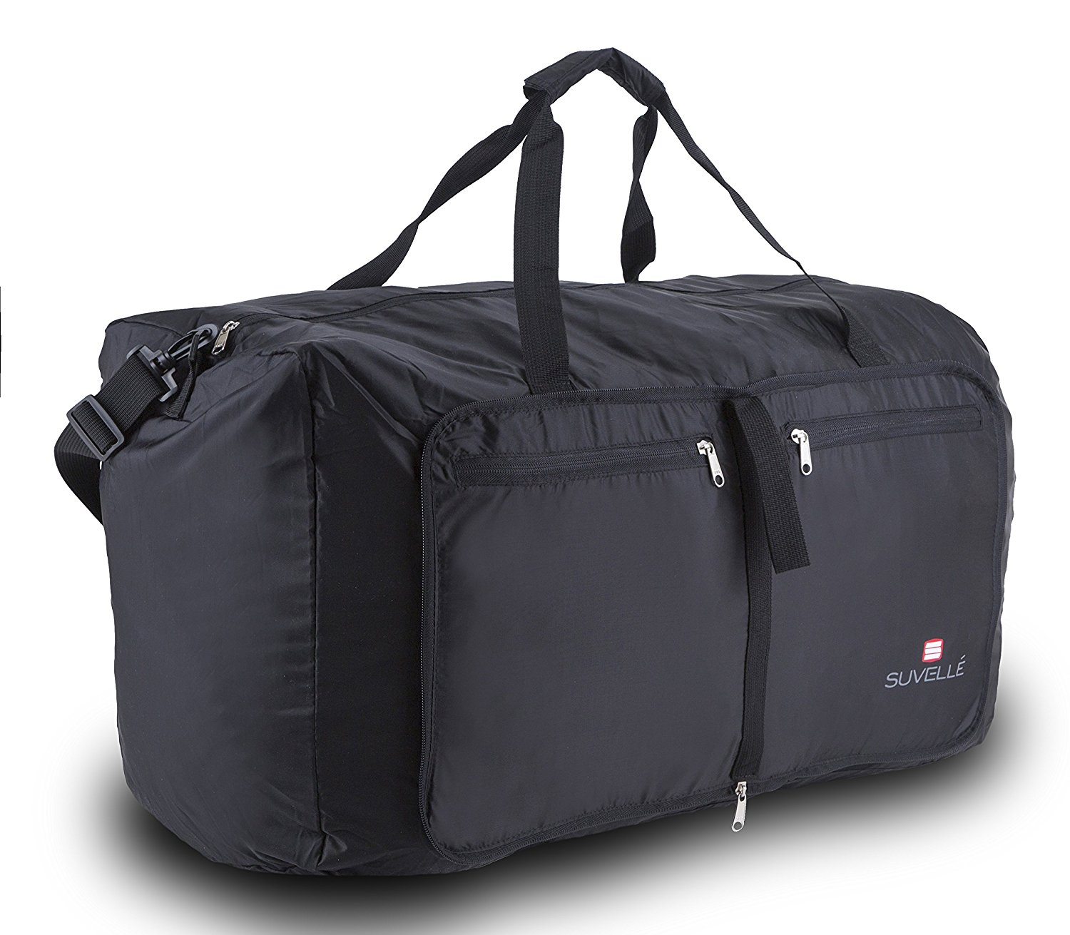 """Suvelle Lightweight 29"""" Travel Foldable Duffel Bag For Luggage Gym Sports Water Resistant Nylon Duffle"""