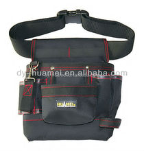 Polyester tool belt pouch Electrician waist tool bag