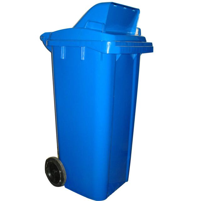 Factory Cheap Plastic Storage Bins Waste Litter Industrial Garbage Bin With  Wheel