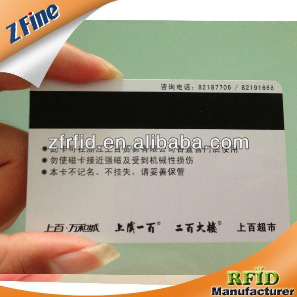 magnetic card maker/magnetic stripe paper card