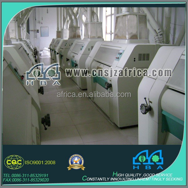 automatic wheat roller mill equipment Wheat Flour Grinding Machine Plant