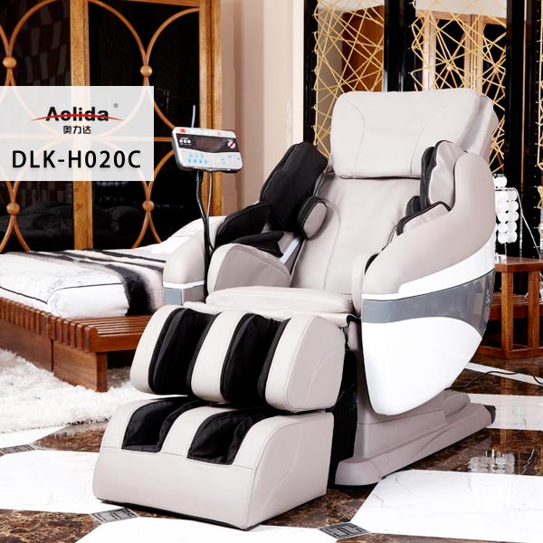 2013 New Arrival: Deluxe Intellegent Air Pressure Therapeutic Full Body Massage Chair + Feet rolling +full body relax