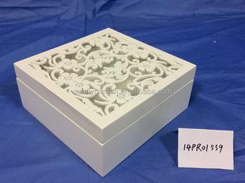Latest Popular Design Of Wooden Jewelry Box Trinket Box Craft Box