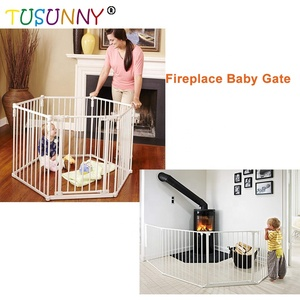 Metal Fireplace Fence Baby Safety Fence metal fireplace guard baby safety gate for home