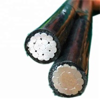 power cable roll 3 core XLPE insulated aluminum twisted cables - ABC