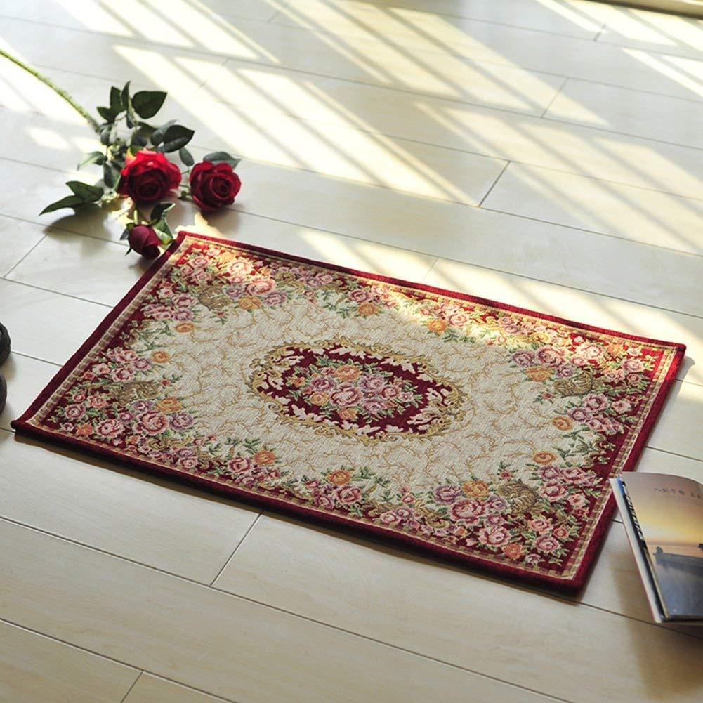 Mats carpet living room kitchen mats anti-slip mats in the hall-C 40x60cm(16x24inch)