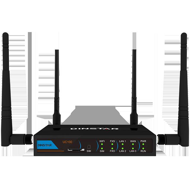 Inteligente IP PBX UC100 para el teléfono del IP del sistema