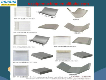 Factory Plastic Mould For Polymer Resin Concrete Drainage