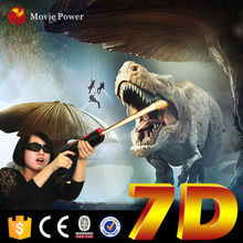 Look!!! The huge	dinosaur 7d cinema 3d kino