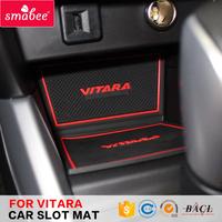 Decorative interior console car mats for Suzuki Vitara 2016