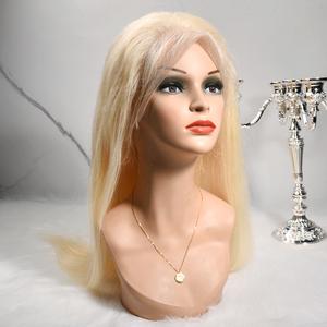 Wholesale 613 blonde wig 613 virgin human hair full lace wig human hair