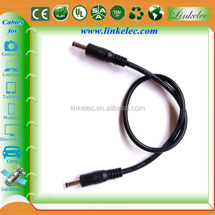 Wholesale dual male 3.5 dc jack cable for outdoor led light