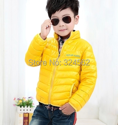2015 Hot Selling Children s Clothing Child Winter Cotton Padded Jacket Outerwear Thickening Down Coat