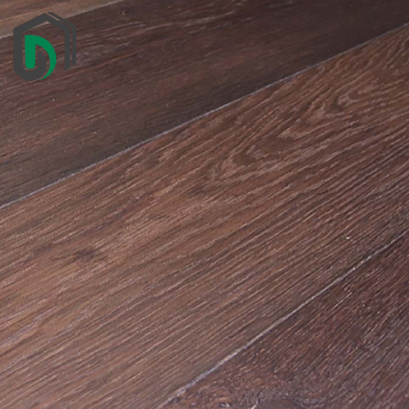 Brushed engineered red oak hardwood floors boards