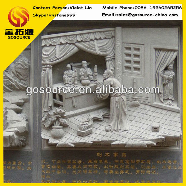 wall relief sculpture decor for temple engraving