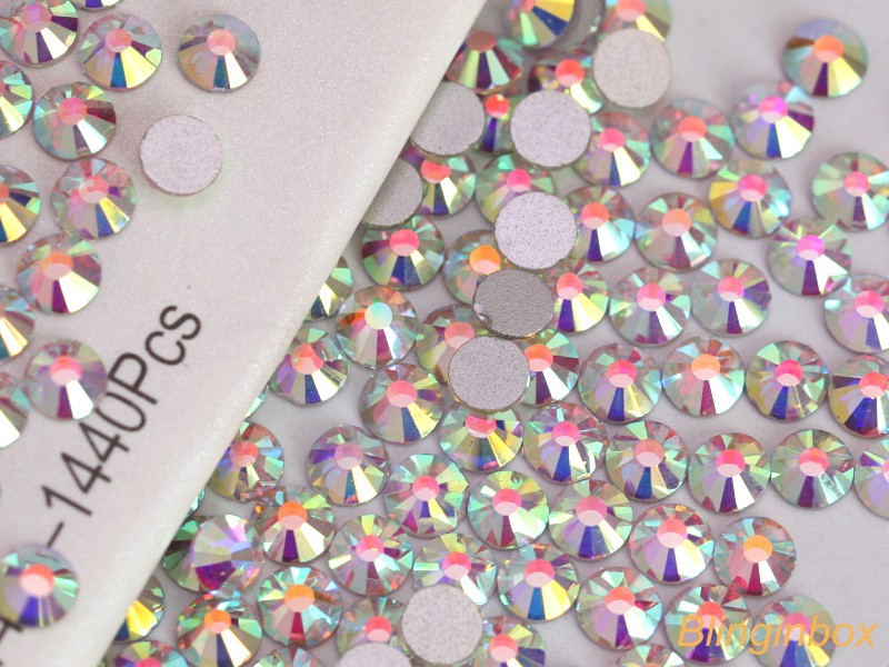 Best selling factory crystal MC flatback rhinestone in bulk manufacturer for nail decoration