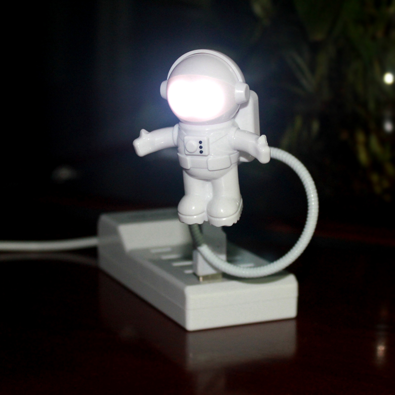 Promotion funny spaceman boy astronaut usb led <strong>light</strong>