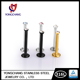 "Top Sale Stainless Steel 16 Gauge 3/8"" Internally Threaded 3mm Gem Ball Labret For Body Jewelry"