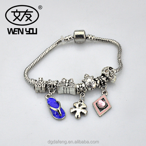 2018 New Arrival Metal Bracelet Beads Sexy Bangle Silver 925 Bangle for Baby and Women