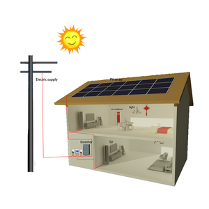 Renewable energy outstanding technology general-purpose solar power system 100kw 200kw solar energy products on grid