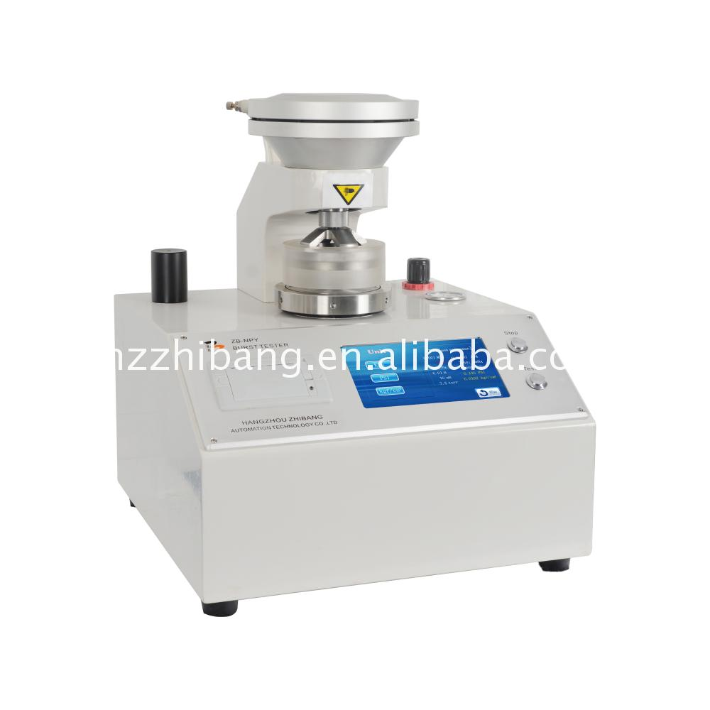 China cheap packaging materials bursting strength tester