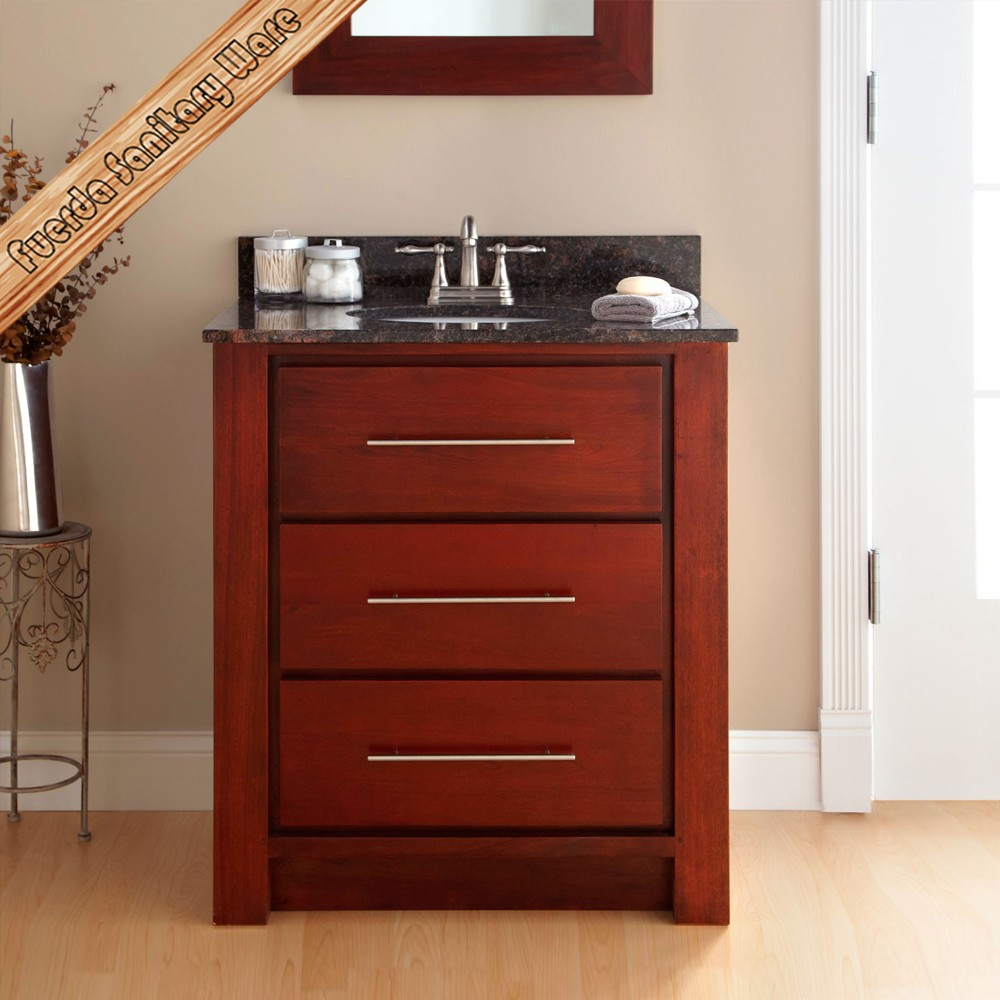 Fed 1598 Top Quality Solid Wood Bathroom Vanity China Cheap Solid Wood Bathroom Cabinet Buy